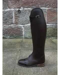 Konig Lugano Polo Boot in Brown size 4.5 52/45 height 37 calf