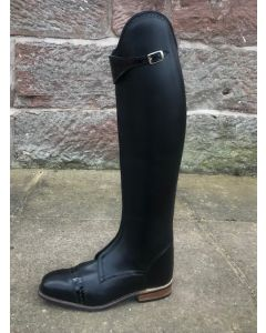 Konig Polo Lugano Boot in Black up to 5.5UK